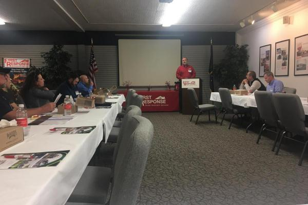 M.A.A.C. presenting at the BOMA Michiana Feb. event held at First Response in South Bend, IN.